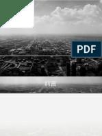 黑白城市ppt模板