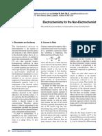 Electrochimie Pentru Incepatori