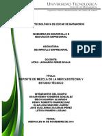 REPORTE DE MEZCLA DE LA MERCADOTECNIA Y ESTUDIO TÉCNICO.doc