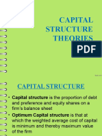 Theories of Capital Structure Ppt