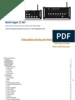 Manual Xr 18