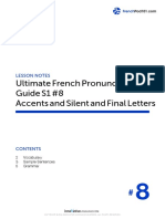 8. Accents and Silent and Final Letters