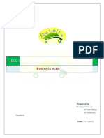 Sample Business Plan Template 1