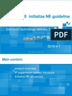ZXMP M920 Initialize NE Guideline
