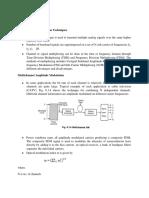 U6 L2 Multichannel Transmission TechniquesRF Over Fiber1