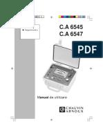 Manual CA 6545_6547