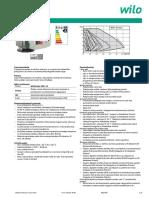 Wilo Stratos - Tehnicke Karakteristike i Spisak Proizvoda