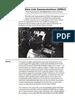 CPDLC Controller Pilot Data Link Communications
