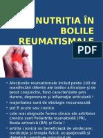 Curs 9 Nutritia in Boli Reumatismale