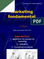 Cours de Marketing