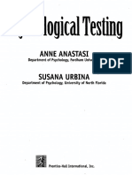 Psychologycal Testing