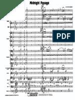 Midnight Passage Big Band Score