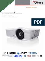 Optoma WU515T WXUGA Professional DLP Projector
