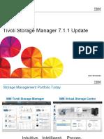 Tivoli Storage Manager 7.1.1 Update
