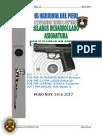 Uso y Manejo de Armas - IV Semestre