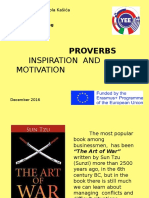 proverbs - inspiration and motivation