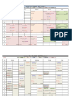 Year 4 Timetable 2017