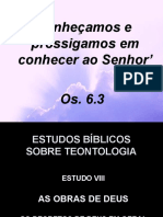 08 - As Obras de Deus - Os Decretos Divinos Em Geral