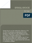Spinal Shock
