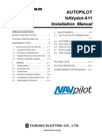 Navpilot 611 Installation Manual Ver A