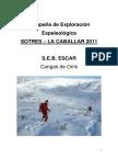 Memoria S.E.B. Escar_Sotres-La Caballar_2011