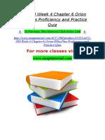 ACC 290 Week 4 Chapter 6 Orion WileyPlus Proficiency and Practice Quiz