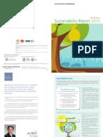 {2012} Toyota Motor Corporation Sustainability Report