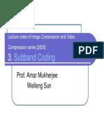 Subband Coding 2005