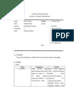 Sarana Produksi (Laporan Tetap Praktikum Dasar - Dasar Agronomi) Febri Irawan 05091002006 Teknik Pertanian UNSRI