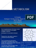 Iron Metabolisme Dr Sri Mulatsih