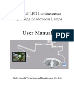 LED Lamp Manual