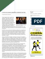 Corruption Violencia - Crise Leva Mais Famílias a Morar Na Rua _ Valor Econômico