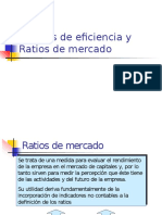 Eficiencia y Ratios de Mercado