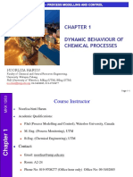 01 Dynamic Behavior of Chemical Process