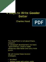 4 Ways to Write Better