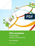 Guía Metodológica de Filtro Economico