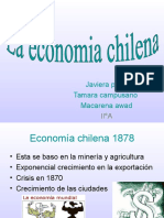 La Economia Chilena x Puntos!