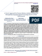 A Novel Approach for Precise Motion Artefact Detection in Photoplethysmograph Signal Processing based on Dark Photocurrent