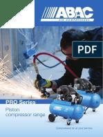 Abac Piston Compressors Pro Series
