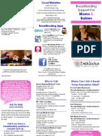 breastfeeding support brochure