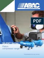 ABAC Silent Piston Air Compressor Range