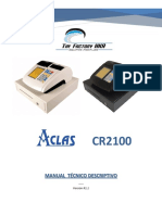 VE ACLAS CR2100 Manual de Programación