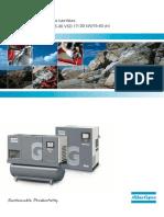 Atlas Copco  Compresseurs rotatifs à vis lubrifiées GA11+-30