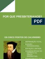 Estudo Calvinismo - Ebd Anderson 2012