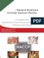 Basic Haccp