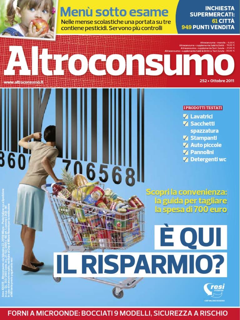 Altroconsumo Nr 252 Ottobre 2011 Zdc Pdf