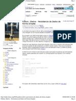 Python_ Shelve - Persist en CIA de Dados de Forma Simples