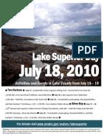Lake Superior Day 2010 - Lake County, MN