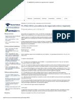 PL 4962_2016_ Prevalência Do Negociado Sobre o Legislado