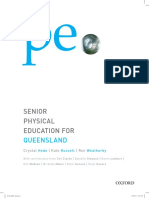 Senior Physical Education for Queensland